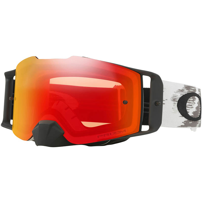 Oakley - Front Line Speed Matte White, очки черные с линзой Prizm Mx Torch