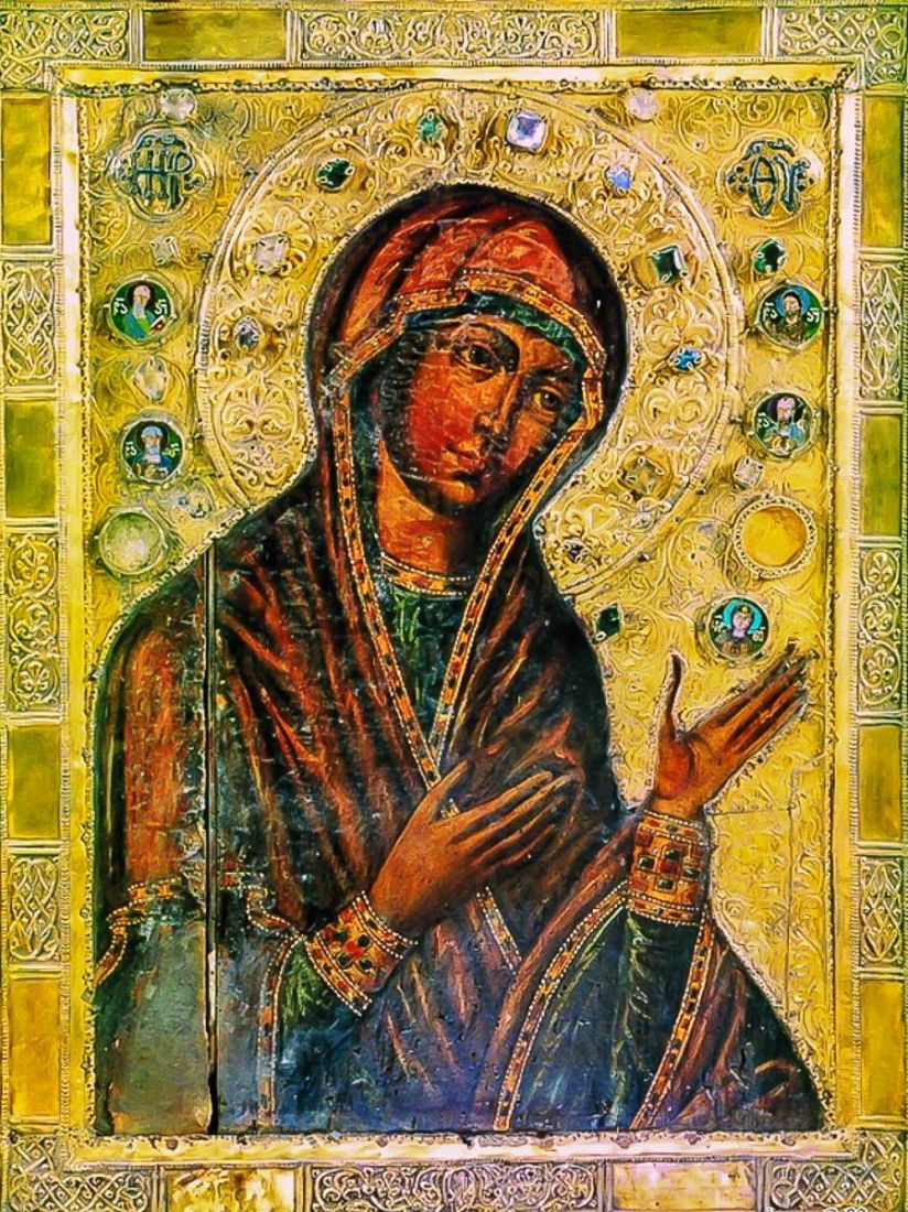 Вардзийская икона Божией Матери (копия старинной)