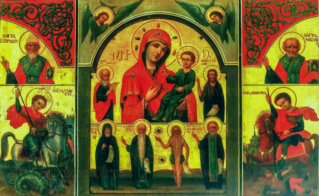 Икона В Скорбях и Печалях Утешение