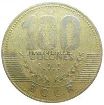 Коста-Рика 100 колон 1997 г.