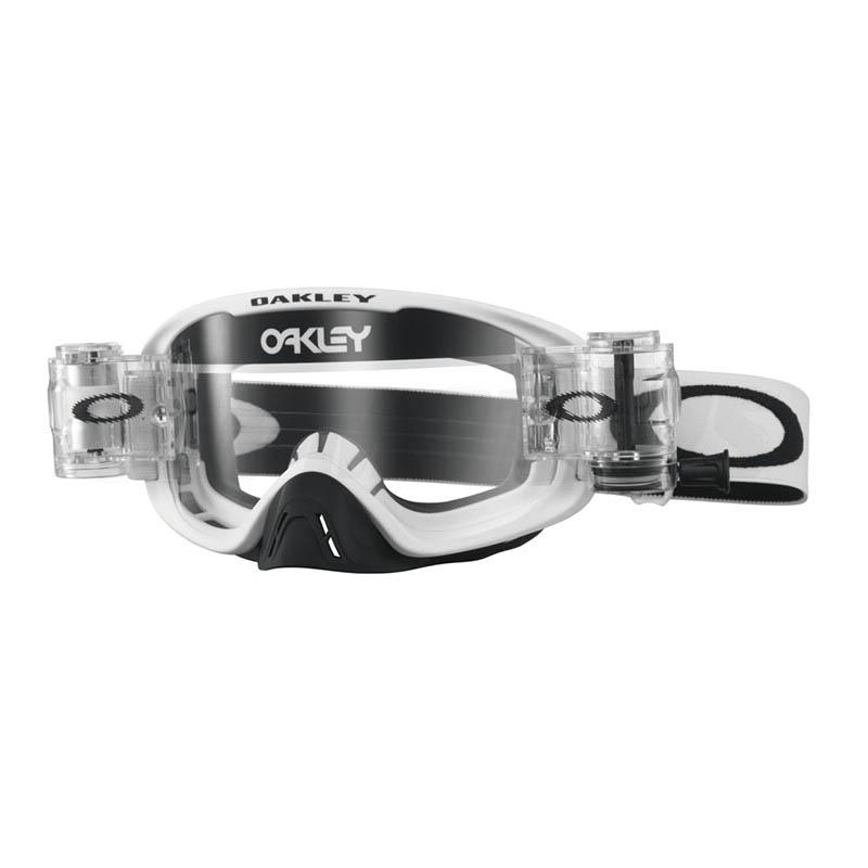 Oakley - O-Frame 2.0 Solid MX Roll Off очки белые матовые, линза прозрачная