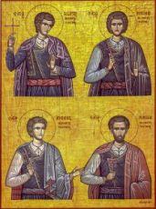 Икона Критские новомученики (копия старинной)
