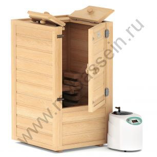 Мини-сауна Sauna by Siberia c парогенератором 0,5-1,5 кВт