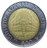 Италия 500 лир