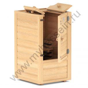Мини-сауна Sauna by Siberia c парогенератором 0,5-2 кВт