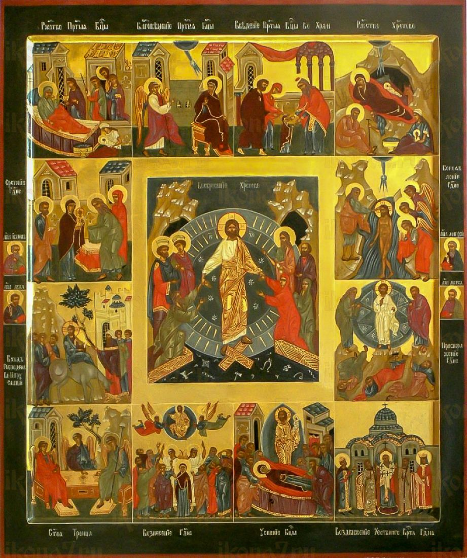 Икона 12 праздников