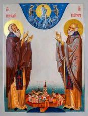 Икона Никифор и Геннадий Важеозерские