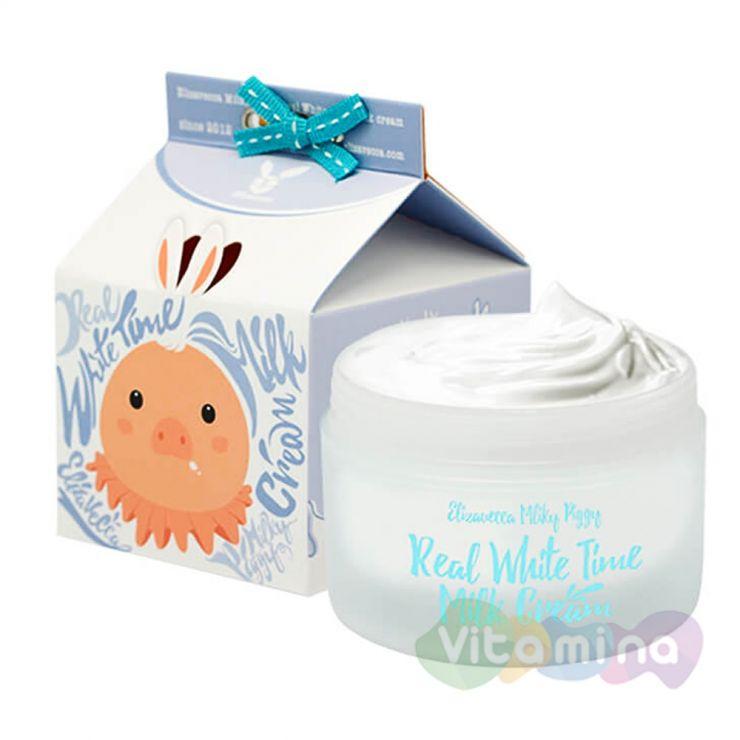 Elizavecca Milky Piggy Real White Крем для лица осветляющий, 100 мл