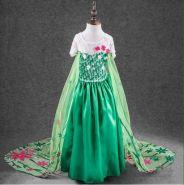 Костюм платье принцессы Эльзы Холодное торжество
