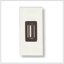 Розетка USB 1 мод ABB NIE Zenit Бел