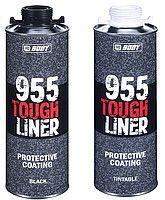 HB Body 955 Tough Liner сверхпрочное защитное покрытие с отвердителем, черное, 600мл. + 200мл.