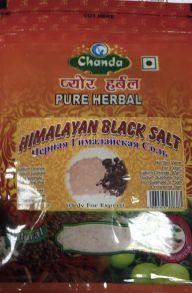 Натуральная Черная Гималайская Соль (Black Salt Himalayan) 200г.