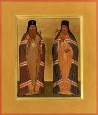 Иннокентий-Херсонский и Иннокентий Иркутский (икона на дереве)