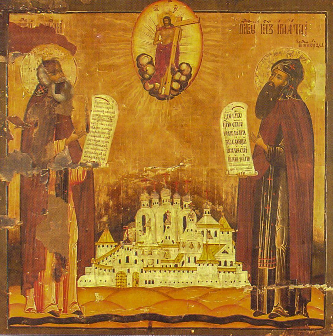 Димитрий и Игнатий Прилуцкие (копия иконы 18 века)