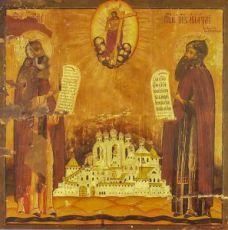 Икона Димитрий и Игнатий Прилуцкие (копия 18 века)