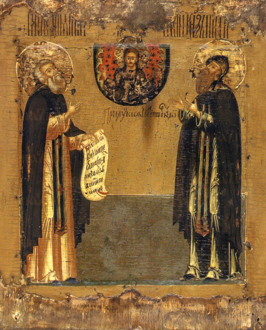 Димитрий и Игнатий Прилуцкие (копия старинной иконы)