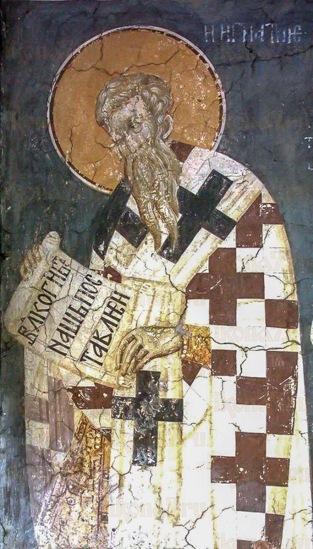 Игнатий Константинопольский (копия старинной иконы)