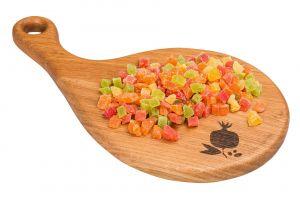 .Ананас цукаты кубик микс 0,5 кг