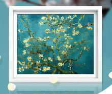 Цветущий миндаль ( Репродукция Ван Гога)