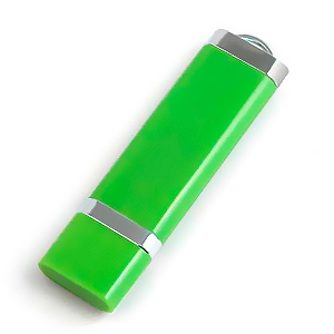 4GB USB-флэш корпус для флешки Apexto U206, Зеленый 356С
