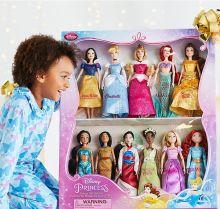 Подарочный набор из 11 кукол принцессы Дисней - классическая кукла Disney