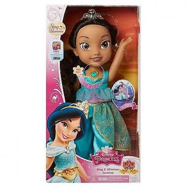 Кукла Жасмин Disney Princess поющая