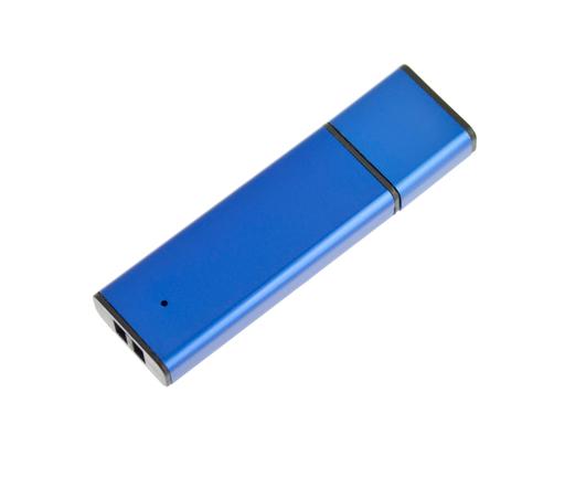 4GB USB-флэш накопитель Apexto U303, алюминиевый, синий