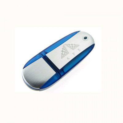 4GB USB-флэш корпус для UsbSouvenir U204 синий  серебро