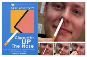 """Сигарета в носу"" Cigarette Up The Nose (гиммик + ОБУЧЕНИЕ)"