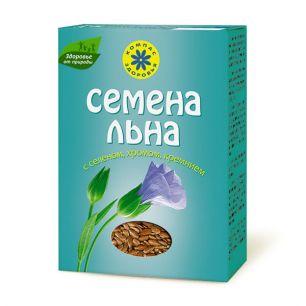 """""""Компас Здоровья"""" Семена льна  с селеном, хромом, кремнием, 200 г"""