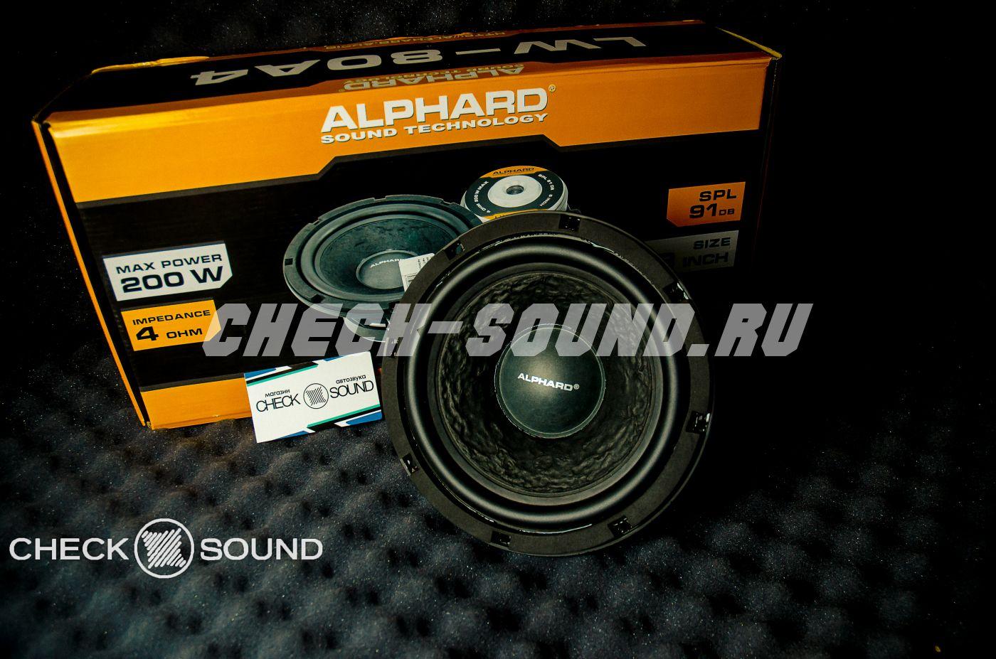 ALPHARD LW-80A4