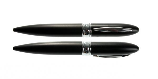 4GB USB-флэш накопитель UsbSouvenir P601 ручка металл черная матовая