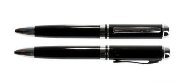 4GB USB-флэш накопитель UsbSouvenir P308 ручка металл черная