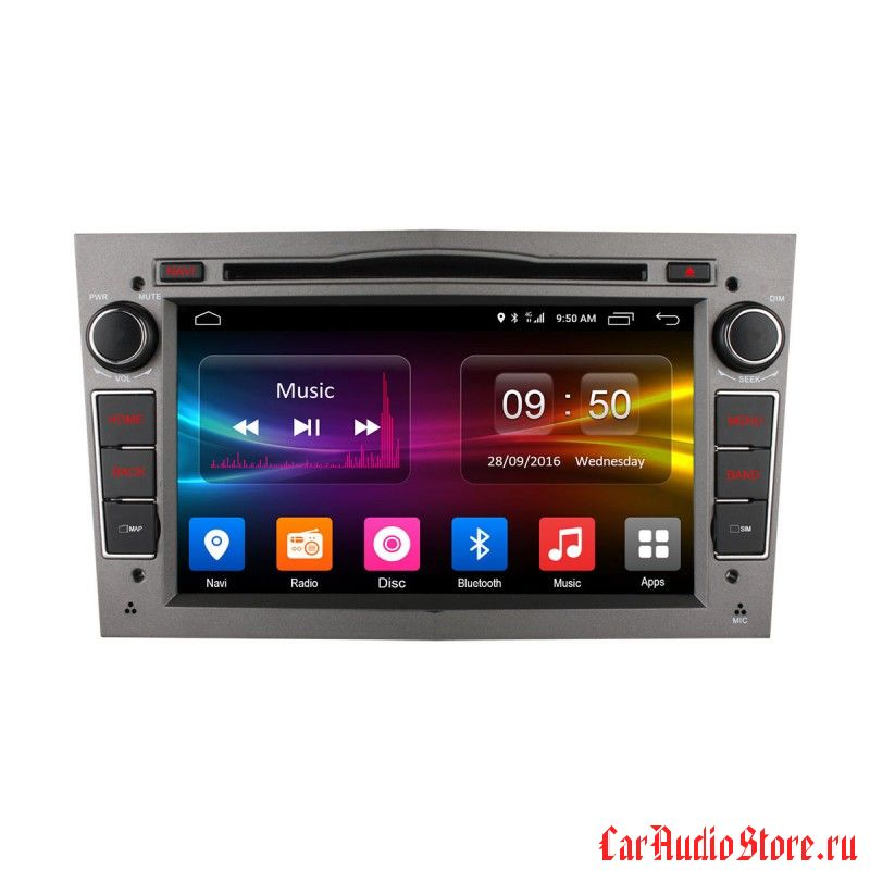 Ownice C500 S7993G для Opel Astra, Vectra, Corsa 2004-2011 (Android 6.0) (S7993G-G) (S7993G-S)