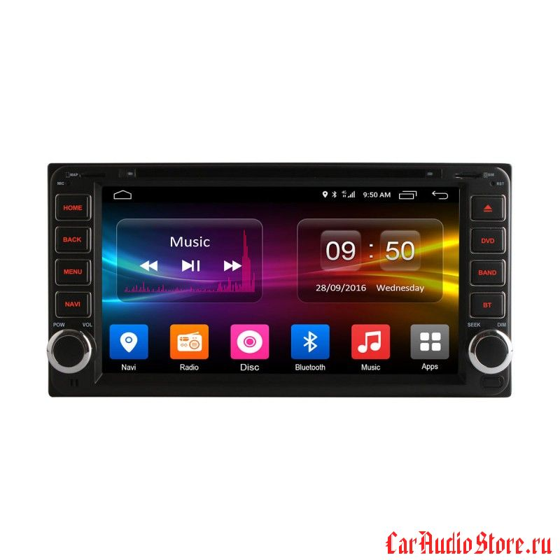 Ownice C500 S7699G для Toyota Toyota Universal (Android 6.0)