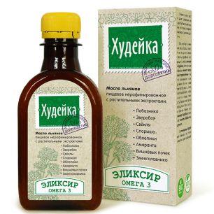 """""""Компас Здоровья"""" Масло льняное ХУДЕЙКА, 200 мл"""