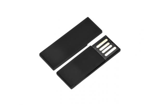 16GB USB-флэш корпус для Apexto AP-BookmarkP  закладка клип черная пластиковая