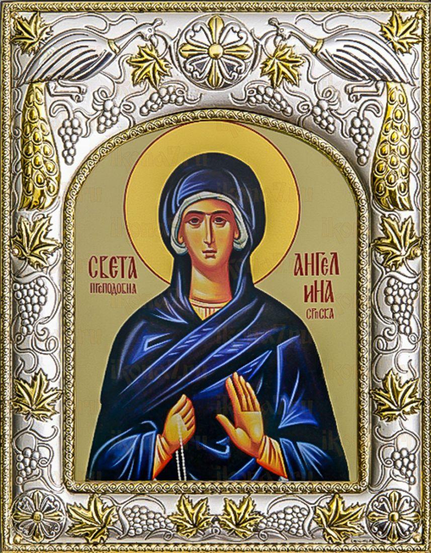 Ангелина Сербская (14х18), серебро