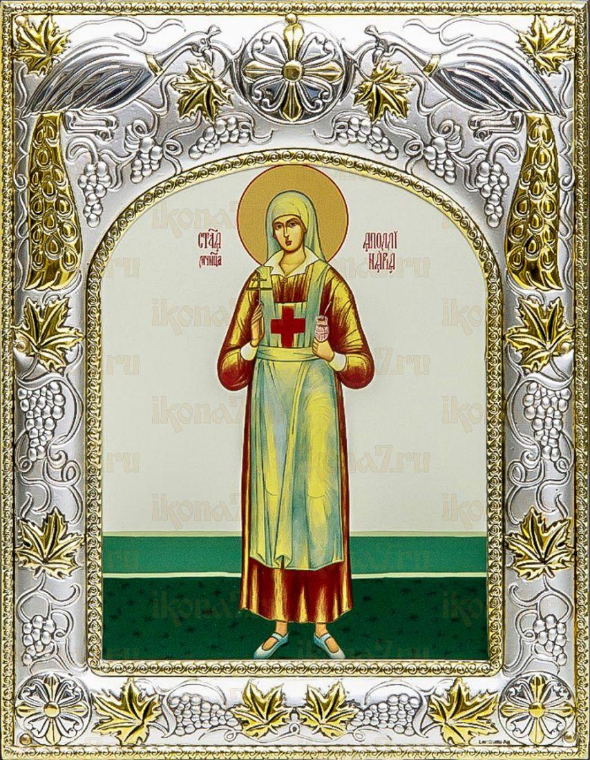 Аполлинария Тупицына (14х18), серебро