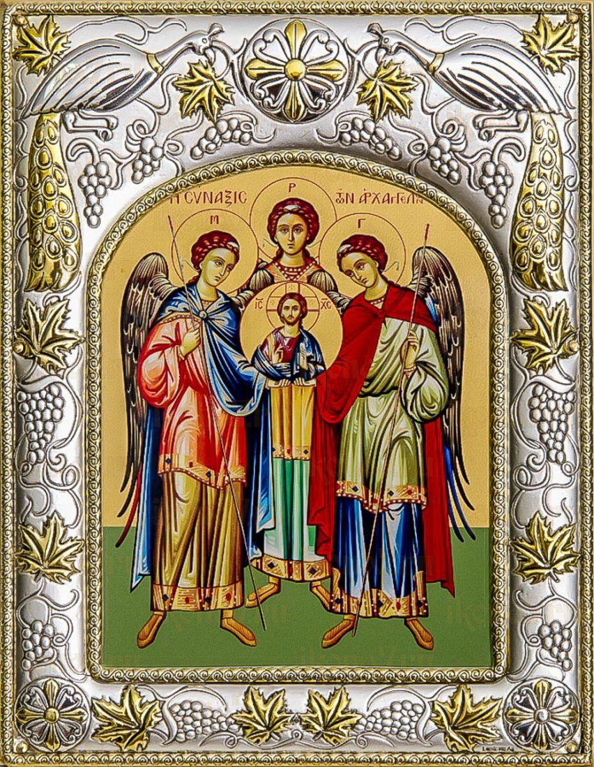 Собор архангелов (14х18), серебро
