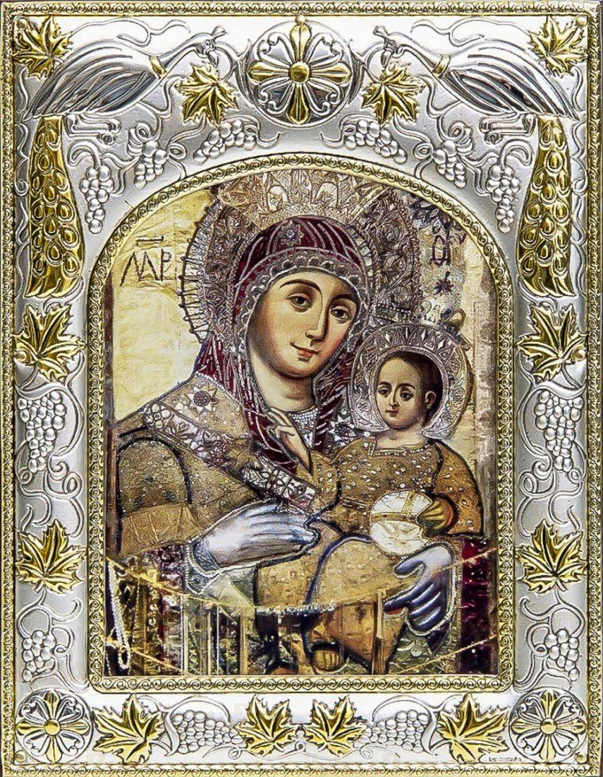 Вифлеемская икона БМ (14х18), серебро