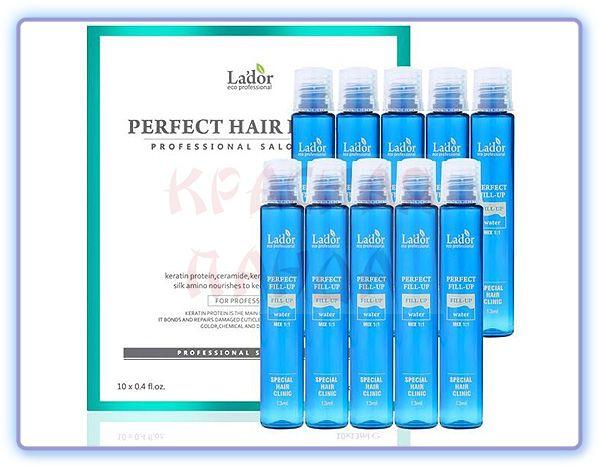 Филлер для восстановления структуры волос La`dor