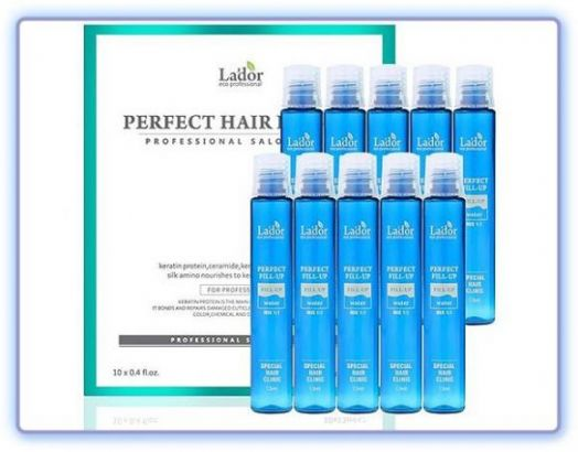 Филлер для восстановления структуры волос