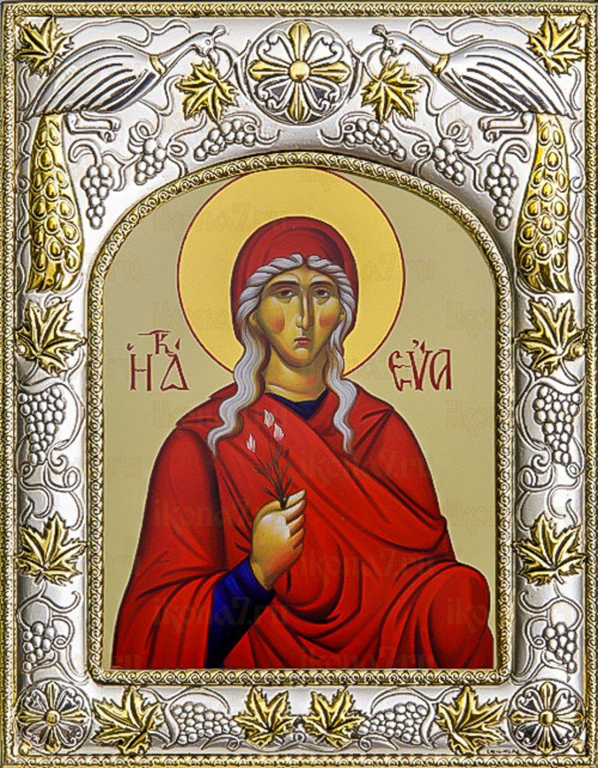 Ева, праматерь (14х18), серебро