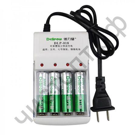 Заряд. уст-во DELIPOW DLP-018 (4*AA/AAA)