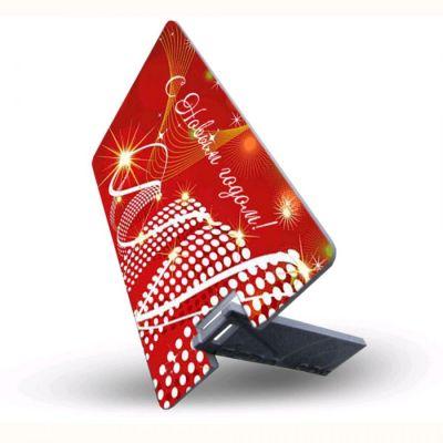 4GB USB-флэш накопитель Apexto, Новогодняя визитная карта