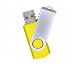 16GB USB-флэш накопитель Supertalent SM-RY раскладной желтый без блистера