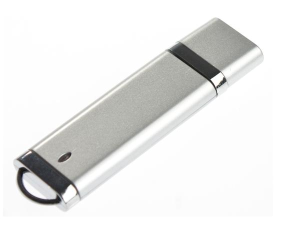 16GB USB3.0-флэш корпус для флешки Apexto U206, серебро
