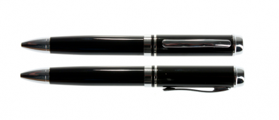8GB USB-флэш накопитель UsbSouvenir P308 ручка металл черная