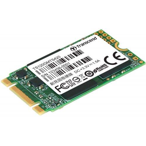120GB SSD-Накопитель Transcend  type M.2 2280 SSD, SATA3, TLC ret.